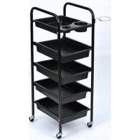 Buy cheap portable beauty furniture facial hair salon trolley cart for sale from wholesalers