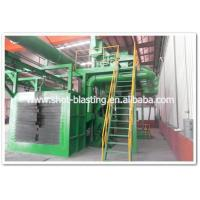 Buy cheap hanging chain conveyor shot blasting machine from wholesalers
