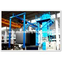 Buy cheap Rotary hook conveyor shot blasting descaling machine from wholesalers