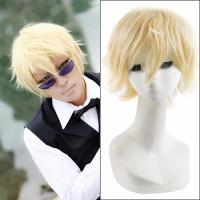 Buy cheap Short Straight Anime Durarara Shizuo Heiwajima Cosplay Wig,Harajuku Male Wigs from wholesalers