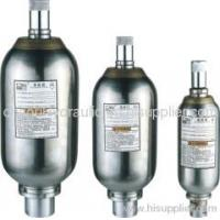 Buy cheap Stainless steel hydraulic accumulator from wholesalers