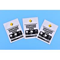 Buy cheap Touch screen antibacterial and disinfectant cleaning wet wipes from wholesalers