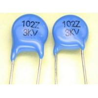 Buy cheap Capacitors Syntax Part Number: CF-0.001UF/3KV C from wholesalers