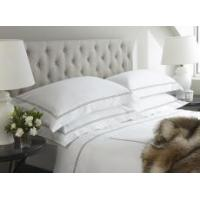 Buy cheap Hotel Pillowcases 'Amalfi' 800 Thread Count Flat Sheets with 'Ebony' Satin Trim From; from wholesalers