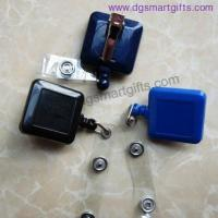 Buy cheap square badge reel with alligator clip from wholesalers