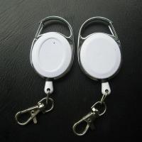 Buy cheap oval retractable plastic badge reel from wholesalers