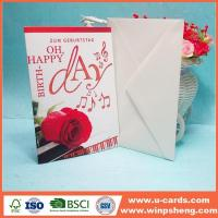 Buy cheap Customized Newly Beautiful Handmade Photo Mothers Day Cards from wholesalers