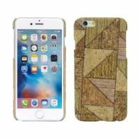 Customized Mobile Phone Case, Vintage Style Wooden PC materials for iPhone 6 case