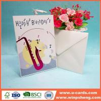Buy cheap Easy To Make Greetings Handmade Paper Birthday Cards from wholesalers