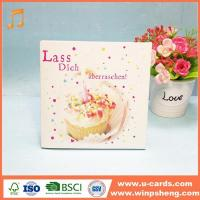 Buy cheap Free Electronic Birthday Greeting Cards With Music Song from wholesalers