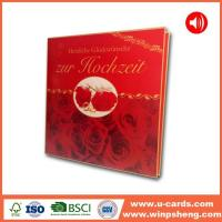 Buy cheap Snowman Sound Recordable Christmas Cards from wholesalers