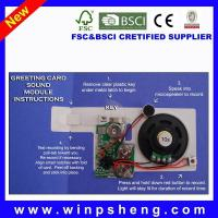 Buy cheap Greeting Card Recordable Recorder Sound Chip from wholesalers