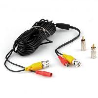 10M 33FT Video DC Power Security Surveillance BNC RCA Cable for CCTV Camera DVR Model 1