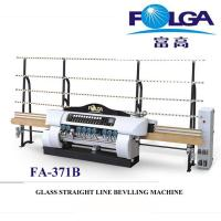 Buy cheap Automatic Glass Straight Line Edge Beveling Machine Stable Performance FA-371B from wholesalers