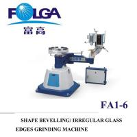 Buy cheap Glass Shaped Flat Round Irregular Edge Beveling Machine Made in China FA1-6 from wholesalers
