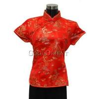 Buy cheap Chinese Red Dragon Phoenix Blouse from wholesalers