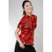 Buy cheap Traditional Chinese Red Plum Blossom Blouse from wholesalers