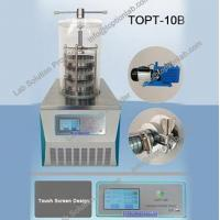 Buy cheap Freeze Drying Food At Home Laboratory Freeze Dryer Lyophilizer from wholesalers