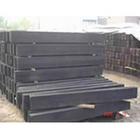 Buy cheap Hard wooden Rail sleeper/ wood tie from wholesalers