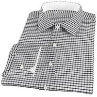Buy cheap Fitted Dress Shirts Elegant Black Checks Plain Weave: West Hampton | Men's Shirts | ShirtsMyWay from wholesalers