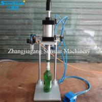 Buy cheap Semi automatic manual pneumatic crown capper for beer bottle from wholesalers