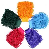 Buy cheap Microfiber chenille car wash glove from wholesalers