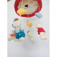 Music New Rotating Baby Bed Bell Hang Plush Art Toy