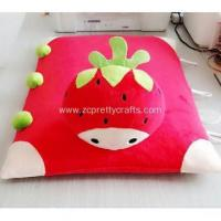 Buy cheap A square red rural strawberry flat pillow mat product
