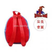 Buy cheap Spider-man red backpack shoulders mainstream product