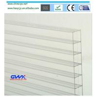 Buy cheap 2-wall U-shaped Sheets virgin material Bayer UV protection polycarbonate sheets from wholesalers