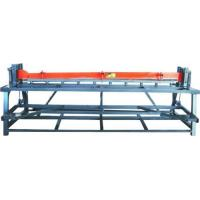 Buy cheap Solar Water Heater Production Line Manual Plate Cutting Machine(3000mm) from wholesalers