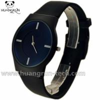 Buy cheap Geneva Watches Ultra-thin Silicone Watches With Sapphire Coating Crystal CC12 from wholesalers