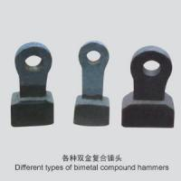Buy cheap Production Name Different Types Of Bimetal Compound Hammers from wholesalers