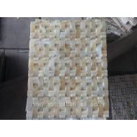 Buy cheap Square Shaped Honey Onyx Mosaic Tile Home Depot from wholesalers