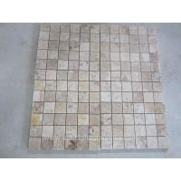 Buy cheap Mixed Color Tumbled Travertine Mosaic Wall Tile Square Mosaic Tile Patterns from wholesalers