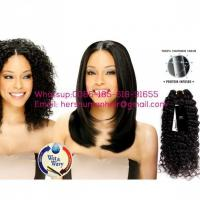 Buy cheap Human Virgin Peruvian Deep Wave Hair,Unprocessed 10 Inch Hair Extensions,Peruvian Hair For Sale from wholesalers