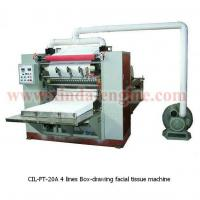 Buy cheap CIL-FT-20A 4 lines Box-drawing facial tissue machine from wholesalers