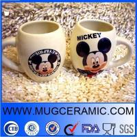 Buy cheap 14 oz drum shape mug with mickey mouse logo from wholesalers