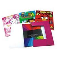 Buy cheap Cartoon Design Paper File Folder from wholesalers