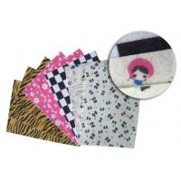 Buy cheap kids craft A4 printed felt fabric, polyester felt fabric product