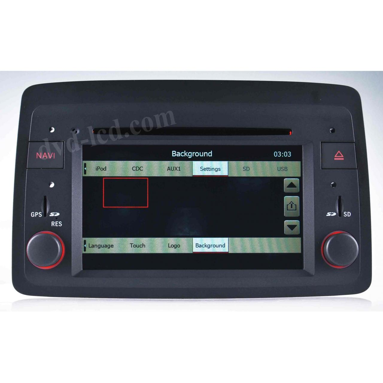 Buy cheap Special car dvd player fiat panda dvd player from wholesalers