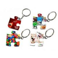 Buy cheap Polymer Puzzle Keychain 41*33mm - White from wholesalers
