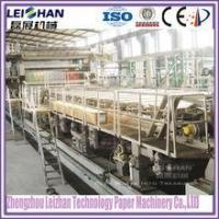 Buy cheap For occ waste paper recycling, single face corrugating paper machine from wholesalers