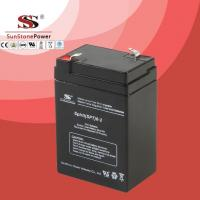 Buy cheap 6V 2AH SPT AGM Maintenance Free Rechargeable Lead Acid Deep Cycle UPS Battery from wholesalers