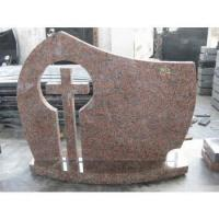 Buy cheap Maple Red European Monument, Romania Style Headstone from wholesalers