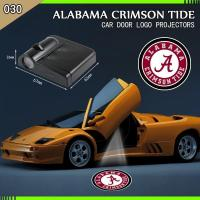 Buy cheap 2 NCAA ALABAMA CRIMSON TIDE WIRELESS LED CAR DOOR PROJECTORS from wholesalers