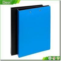 Buy cheap custom plastic 2 cardboard size customized file folder with 2 clips HF-0025 from wholesalers