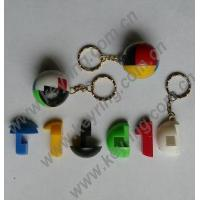 Buy cheap Keychains Plastic Ball Puzzle Keychains, Plastic Ball Puzzle Keyring product