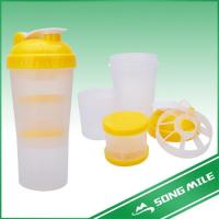 Buy cheap 600ml Reusable Food Grade Healthy Drinking Shaker Bottle product