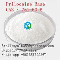 Buy cheap White Crystalline Powder 99% High Purity Local Anesthetic Prilocaine Base CAS751-50-6 from wholesalers